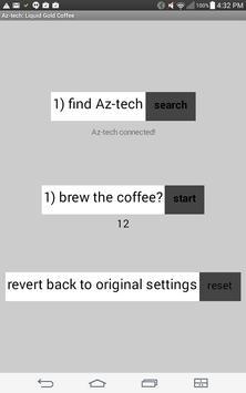Az-tech: Liquid gold coffee screenshot 2
