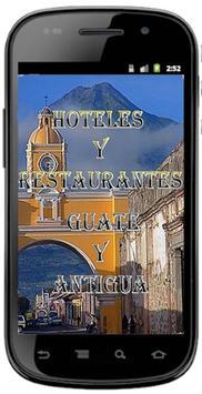 HOTEL RESTAURANT GUATE ANTIGUA poster