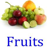 閃卡 flashcard fruits icon