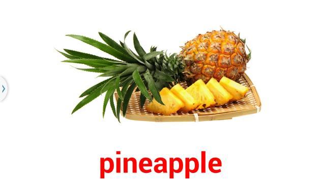 閃卡 flashcard fruits apk screenshot