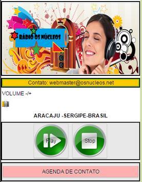 RADIO OS NÚCLEOS ONLINE screenshot 1