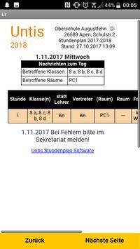 Vertretungsplan OBS Augustfehn apk screenshot
