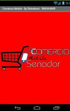 Comércio Mobile Senador poster