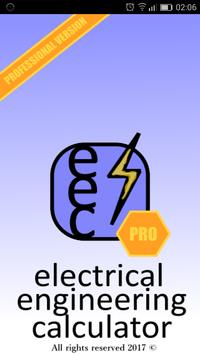 Electrical engineering calculator poster