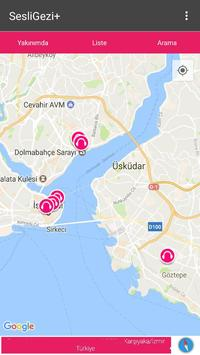Sesli Gezi Plus apk screenshot