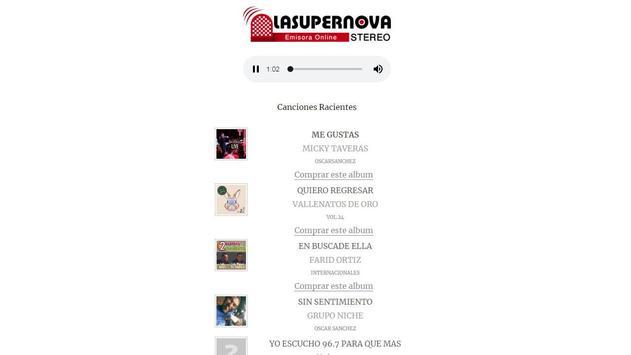 LASUPERNOVA screenshot 1