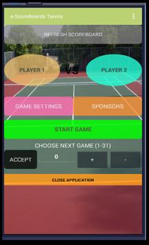 Tennis Scoreboard screenshot 2