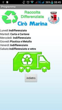 Differenziata Cirò Marina apk screenshot