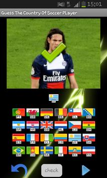 Guess Country Of Soccer Player screenshot 6