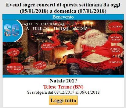 Campania eventi sagre concerti screenshot 1