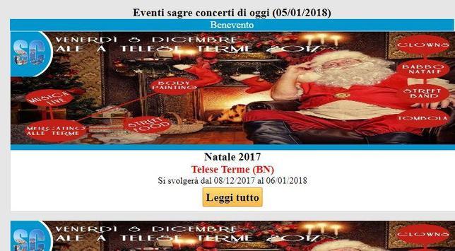 Campania eventi sagre concerti screenshot 2