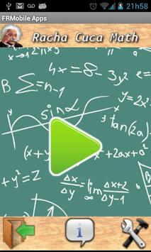 Racha Cuca Math poster