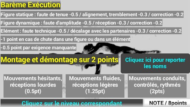 Acrosport Evaluation Exécution screenshot 1