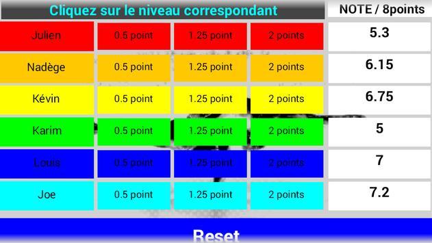 Acrosport Evaluation Exécution screenshot 2