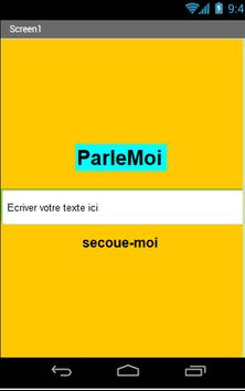 ParleMoi screenshot 1