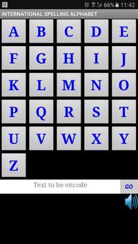 World Spelling Alphabet poster