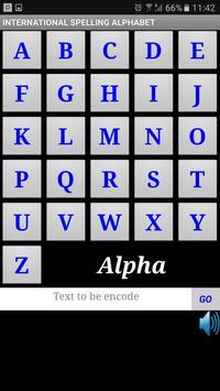 World Spelling Alphabet screenshot 1