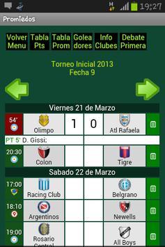Promiedos screenshot 1