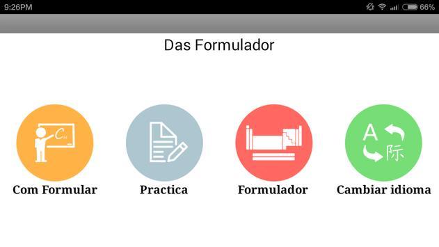 Das Formulador apk screenshot