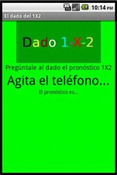 Dado 1X2 apk screenshot