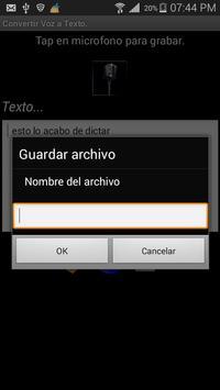 Voz2Texto screenshot 3