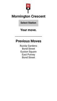 Mornington Crescent screenshot 1