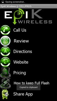 EpiK Wireless apk screenshot
