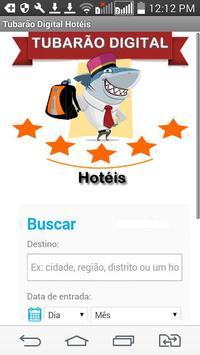 Hotéis - Tubarão Digital poster