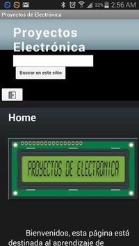 Proyectos de Electrónica poster
