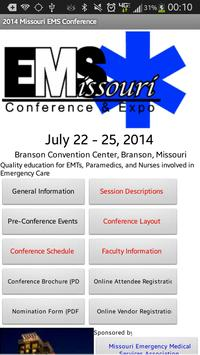 2014 MO EMS Conference & Expo poster