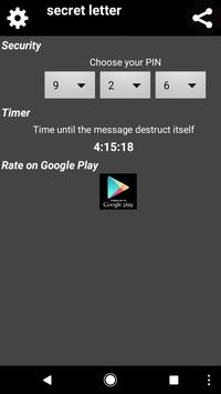 secret letter - the best encryption App screenshot 2