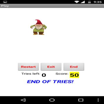 Shoot the gnome apk screenshot
