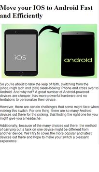 How to Migrate ios to Android apk screenshot