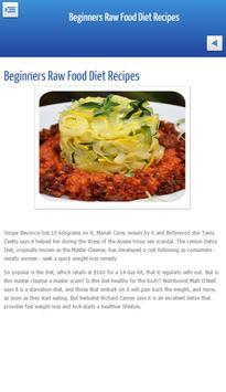 Beginner raw food diet recipes descarga apk gratis salud y beginner raw food diet recipes poster forumfinder Gallery