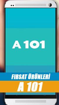 A101 Aktuel Ürünler Kataloğu poster