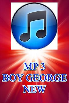 BOY GEORGE NEW poster