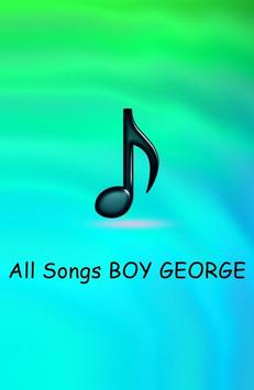All Songs BOY GEORGE poster