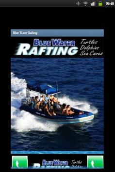 Blue Water Rafting poster