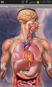 جسم الإنسان apk تصوير الشاشة
