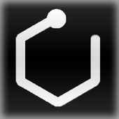 One-line: Hexagon icon