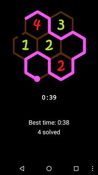 One-line: Hexagon screenshot 1