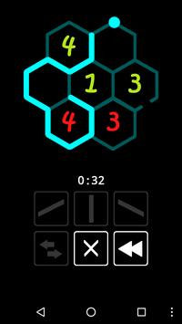 One-line: Hexagon screenshot 3