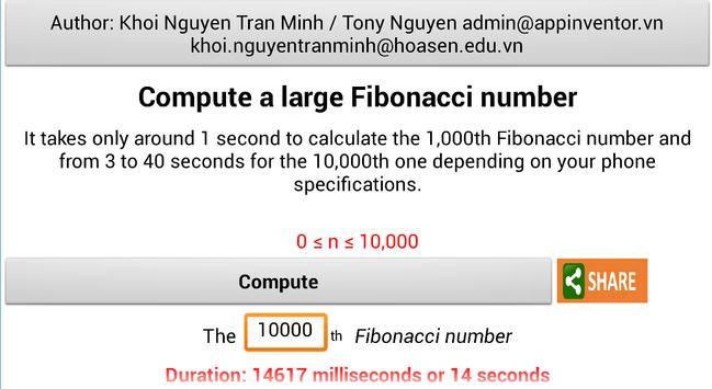 10,000th Fibonacci - IGGI apk screenshot