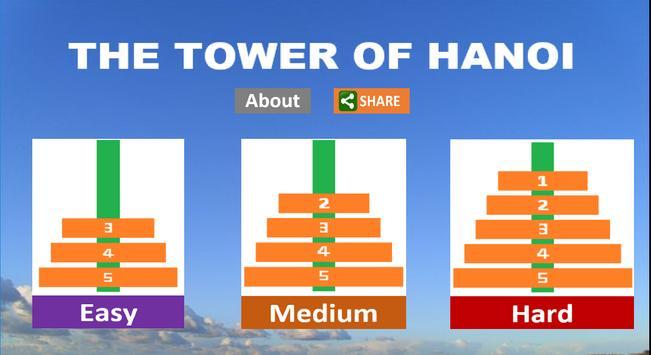 The Tower of Hanoi - IGGI apk screenshot
