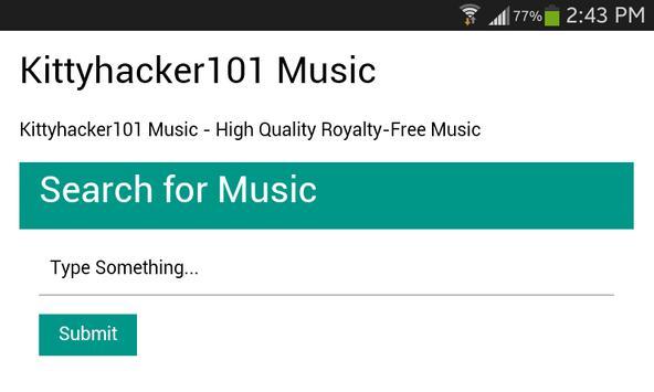 Kittyhacker101 Music apk screenshot
