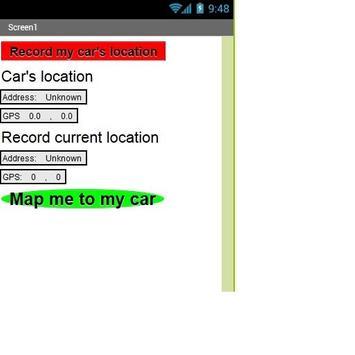 Family Car Finder screenshot 1