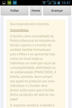 Serviço Social Questões apk screenshot