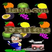 Habla y aprende con Frutas icon