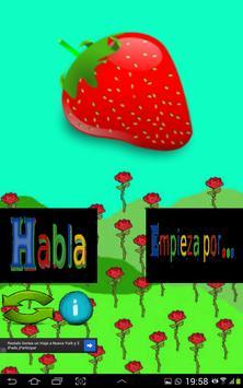 Habla y aprende con Frutas apk screenshot