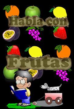 Habla y aprende con Frutas poster